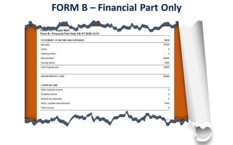 Form B - Financial Part Only